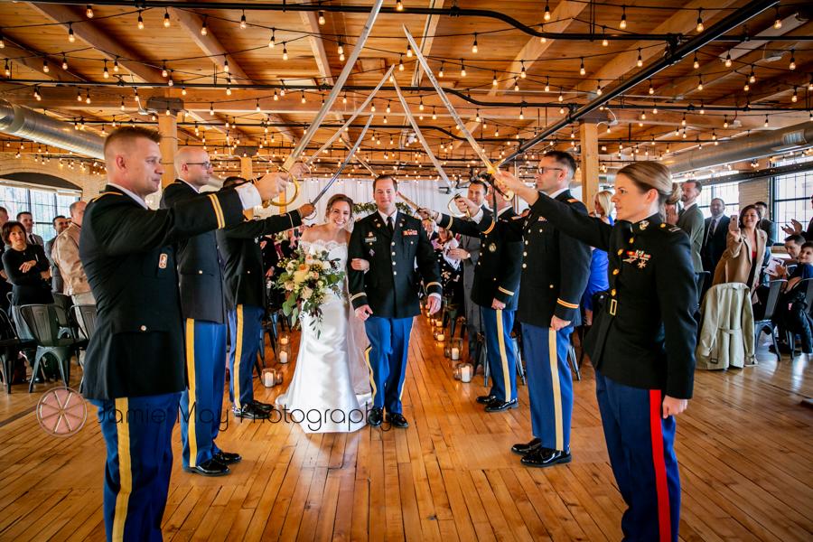 military sword ceremonies